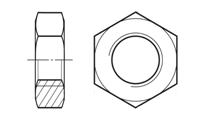 Гайка шестигранная низкая ГОСТ 5916-70