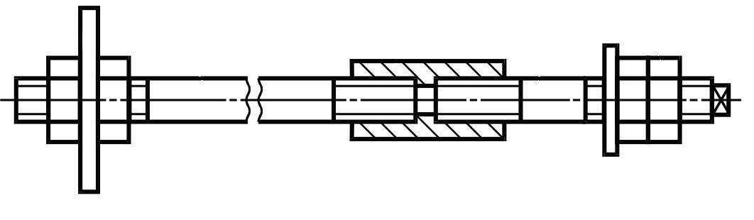 Фундаментный болт ГОСТ 24379.1-2012 тип 3 исполнение 1