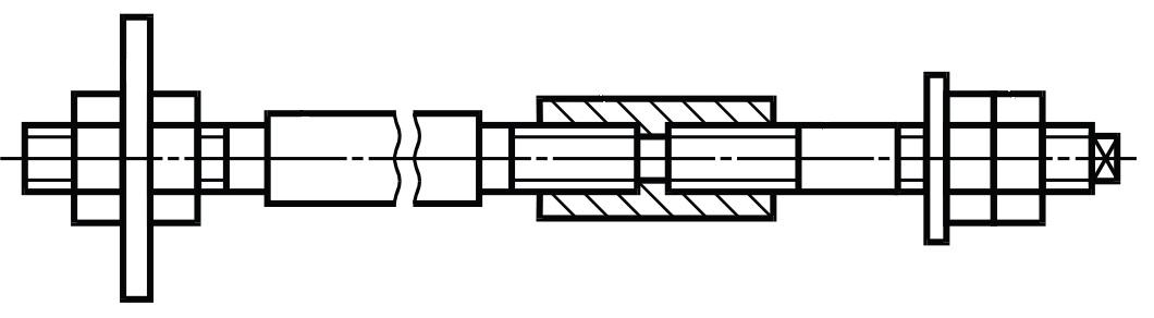 Фундаментный болт ГОСТ 24379.1-2012 тип 3 исполнение 2