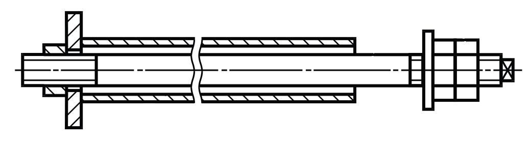 Фундаментный болт ГОСТ 24379.1-2012 тип 4 исполнение 1